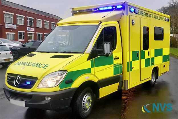 Mercedes Sprinter Ambulance Hire